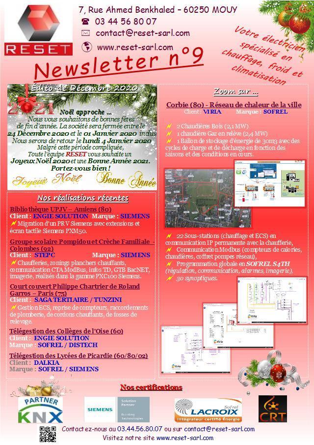Newsletter n 9